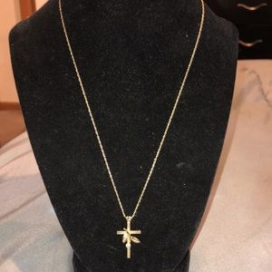 14 Kt. Gold filled Necklace with Charm